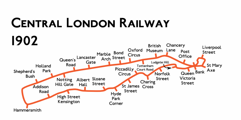Planned Route Map 1922