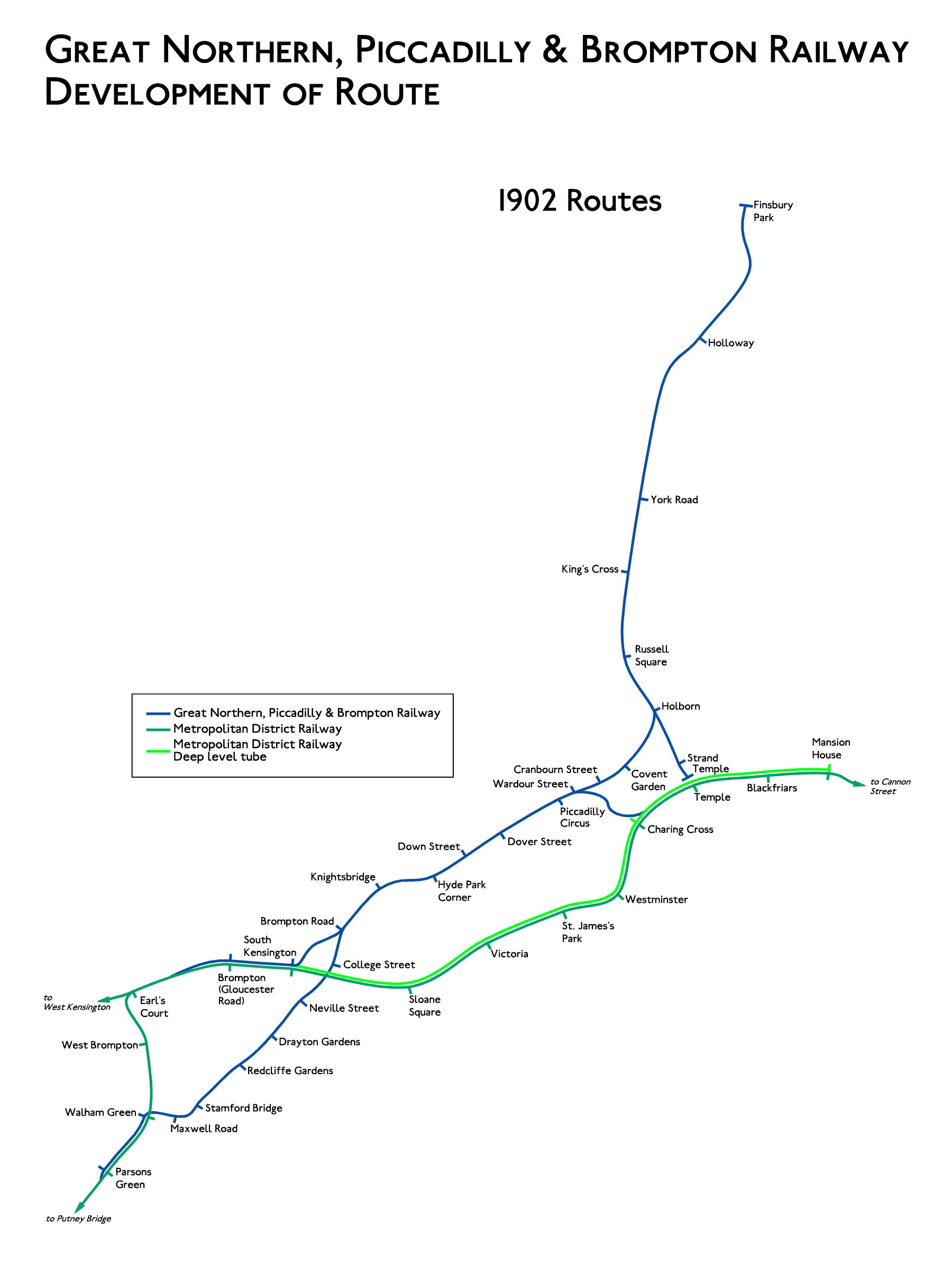 Planned Route GNPBR 1902